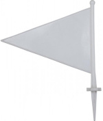 Cricket Sports Outdoor Playing Playground Pitch Boundary Marker Flag Pack Of 10