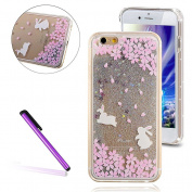 iPhone 7 Plus Case Clear,iPhone 7 Plus Case Bling,iPhone 7 Plus Case Cute,iPhone 7 Plus Case Diamonds,iPhone 7 Plus Cover Glitter,EMAXELERS Glitter Transparent Hard Clear Liquid Case for iPhone 7 Plus,iPhone 7 Plus (14cm ) Hard Case,iPhone 7 Plus 3D ..
