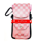 dardera Cameo L-Style Krystal Colours Chess White Pink