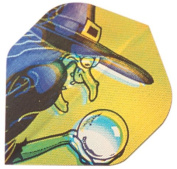 Set of 3 Witch In 2D Holographic Flight 802905