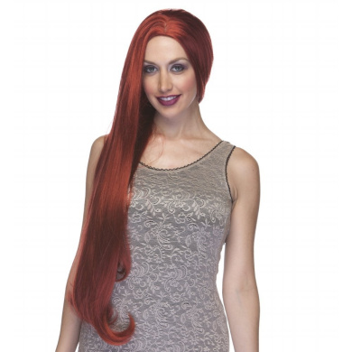 Sepia Costume lA 4000 Synthetic Wig - Henna Red