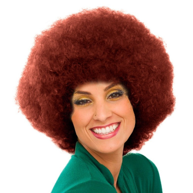 Sepia Costume New Colour Afro Synthetic Wig - 130