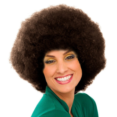 Sepia Costume New Colour Afro Synthetic Wig - 4