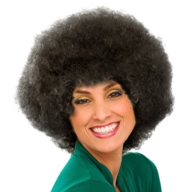 Sepia Costume New Colour Afro Synthetic Wig - 2