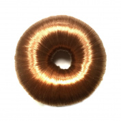 Blond Hair Bun Ring Donut Shaper Magic Hair Chignon Hair Styler Maker Bun