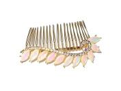 Decorative AB Crystal Hair Comb