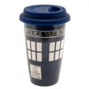 Doctor Who Ceramic Travel Mug Official Merchandise