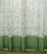 Curtains For Living Room Rustic Pastoral Window Curtain Kitchen Blackout Drape Panels Treatment Home Decor Floral Dining Teens Boys Girls Decorations, Size 100 cm W x 215 cm H