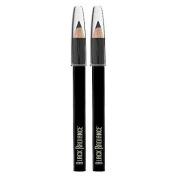 Black Radiance Twin Pack Dark Tones Eyeliner Pencil - Truly Black .980ml - 1ct