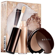 Becca Glow on The Go Shimmering Skin Perfector Set ~ Moonstone