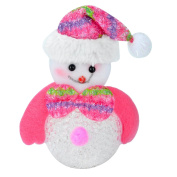 Xmas Gift Christmas Snowman Light Colour Changing Doll Toy Christmas Tree D¨¦cor,Blue
