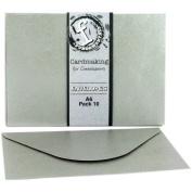 Fundamentals Cardmaking A6 Envelopes 10/Pkg-Silver