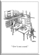 The New Yorker NYHM029 Hard Magnet, Pet Games