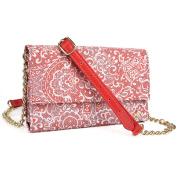 LG G3 Screen , LG V10 Phone holder crossbody purse w/ credit card slots & quick cash slot
