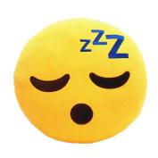 Emoji Smiley Emoticon Round Cushion Pillow Shape Pillow Cushion Stuffed Doll Toys Xmas Christmas Gift-K