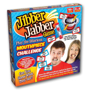 Jibber Jabber Party Game - The Hilarious Mouthpiece Game for Christmas Party Loud Mouth Board Game Challenge - Speak Out If You Can - UK Edition Version