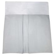 Nautica Kids Mix & Match Crib Skirt in Grey