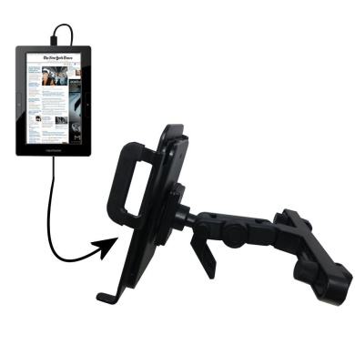Innovative Headrest Vehicle Mount to Support Nextbook Next5 Tablet by Gomadic