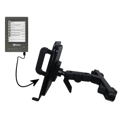 Innovative Headrest Vehicle Mount to Support BeBook One Tablet by Gomadic