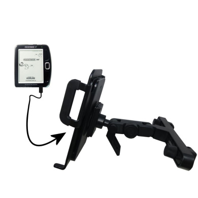 Unique Highly Adjustable Car/Auto Headrest Mount for the Netronix Pocketbook 360 by Gomadic