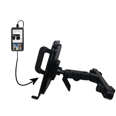 Unique Highly Adjustable Car/Auto Headrest Mount for the Spring Design Alex by Gomadic