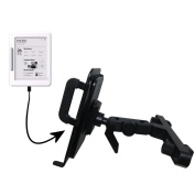Gomadic Brand Unique Vehicle Headrest Display Mount for the iRiver Cover Story