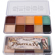 Skin Illustrator Joel Harlow's Pirates IV Professional Alcohol Activated Makeup Palette
