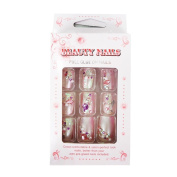 VANESSA Beauty Pre-Glued Nails Full Gule On Artificial Nails Art No.23