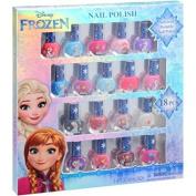 Frozen 18 Piece Non Toxic Peelable Nail Polish Gift Set