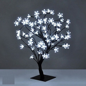 Christmas Xmas LED Lights Pre-Lit Cherry Blossom Bonsai Tree Indoor Outdoor