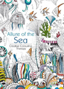 Oceanis Adult and Teen Colouring Book Allure of the Sea Ocean Nautical Fish Theme