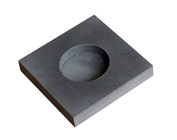 Graphite ingot for gold coins
