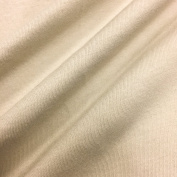 USA Made Premium Quality 100% Cotton Jersey Knit Fabric .  by the bolt) - Sand - 10 Yards
