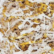 Gold & White Metallic Crinkle Cut Blend Fill, 18kg Box