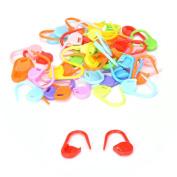 50 Pcs/Set Needle Clip Plastic Mini Knitting Crochet Locking Stitch Sewing Tool By Crqes