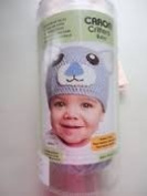 Caron Critters Baby Blue Bear Hat