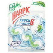 Harpic Fresh Power White & Shine 6 Block Forest Dew 39g
