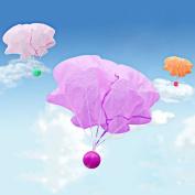 Puraid(TM) 1pc Children Educational Toys Hand Throwing Flash Parachute Parachute Baby Kid Glow in the Dark Toys Gift FCI#