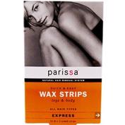 Q & E Wax Strips Leg & Body - 16 ct - Wax Strip [Health and Beauty] by Parissa