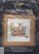 Golden Bee Counted Cross Stitch Kit