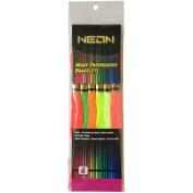 Neon Friendship Bracelets Floss Pack 6/Pkg-