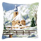 Vervaco Alpine Scene 2 Cushion Cross Stitch Kit