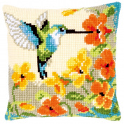 Vervaco Hummingbird Cushion Cross Stitch Kit