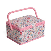 Hobby Gift MRM/187 | Contemporary Notions Print Medium Sewing Basket 18½x26x15cm