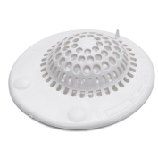 MyLifeUNIT Silicone Suction Bathroom Drain Hair Catcher, Drain Cover