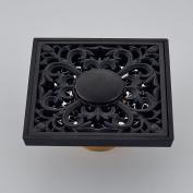 Rozin Bathroom Square Floor Drain Oil Rubbed Bronze