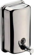 DI Wall Mounted Pump Soap Lotion Dispenser Bath or Kitchen - Polished Chrome