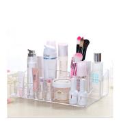 Gobuy Transparent Acrylic Makeup Jewellery Storage, Cosmetic Holder, Organiser, Display Box