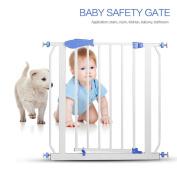 Baby Safety Door ,Hmlai Metal Multifunction Children Security Product Baby Safety Door Gate use in Doorway Staircase