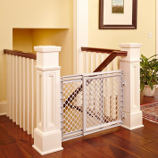 Baby Safety Gate Walk Thru Easy Step Toddler Infant Dog Fence Pet Child Stairway
